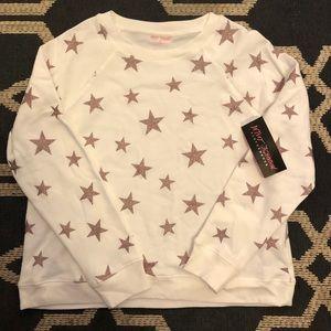 NWT Betsey Johnson Performance sweatshirt